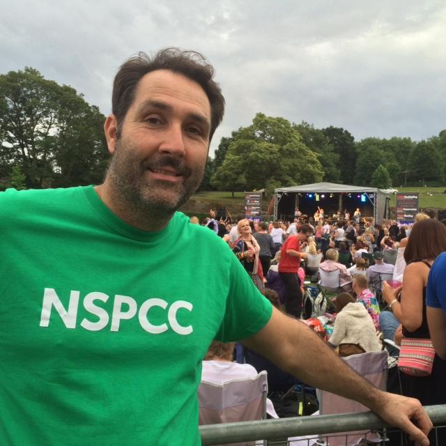 NSPCC volunteer