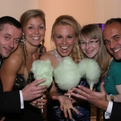 emerald-ball-committee-2013-enjoying-green-candyfloss