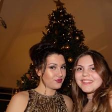 Carla Clarke and Jasmine Skingle